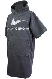 Atlantic Shore Surfponcho Grey
