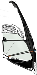 S25 Naish Sail Force 4 White/Black