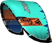 S25 Naish Kite Triad PBl/Or/DBl