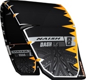 S25 Naish Kite Dash Ltd Bk/Or