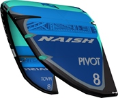 S25 Naish Pivot Deep Blue/Pacific Blue