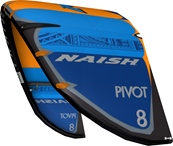 S25 Naish Pivot Deep Blue/Orange