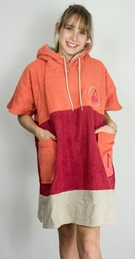 Wave Hawaii Cotton Beachponcho Seta